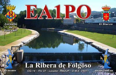 QSL image for EA1PO