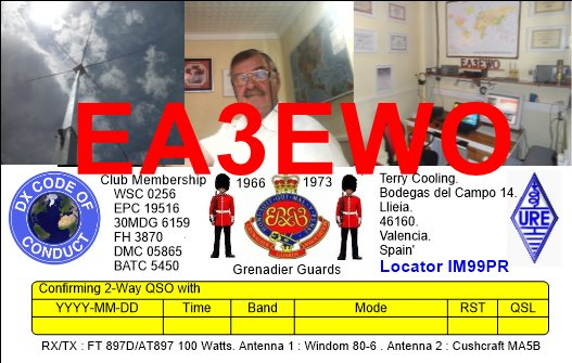 QSL image for EA3EWO