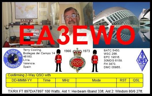 QSL image for EA3EWO