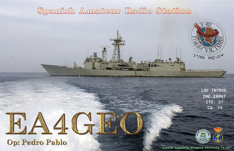QSL image for EA4GEO