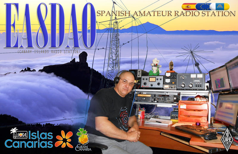 QSL image for EA8DAO
