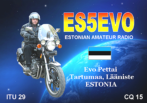 QSL image for ES5EVO