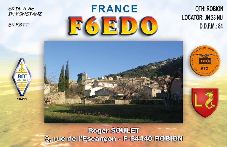 QSL image for F6EDO