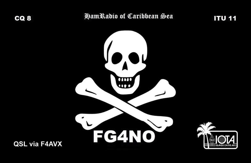 QSL image for FG4NO