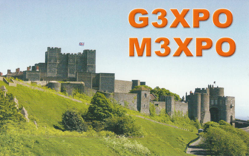 QSL image for G3XPO