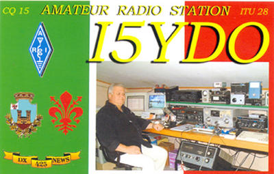 QSL image for I5YDO