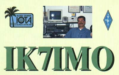 QSL image for IK7IMO