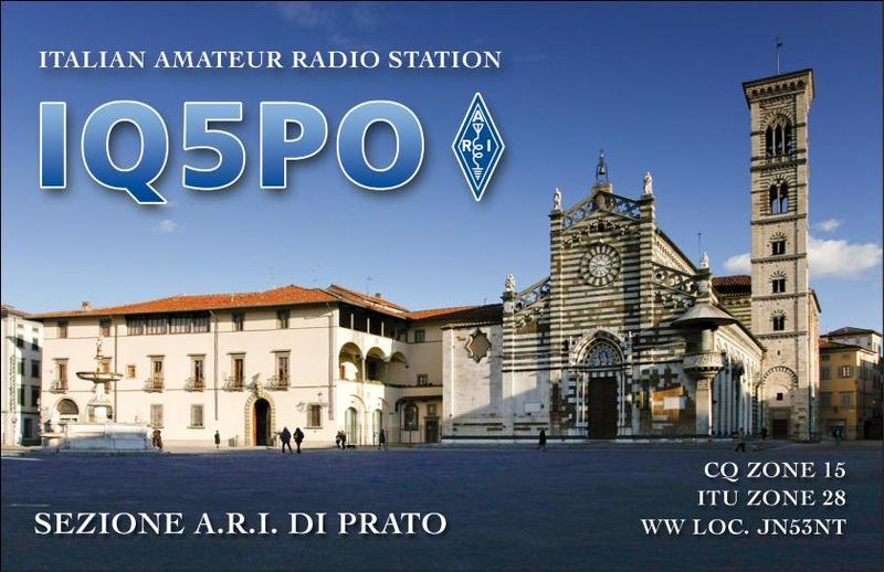 QSL image for IQ5PO