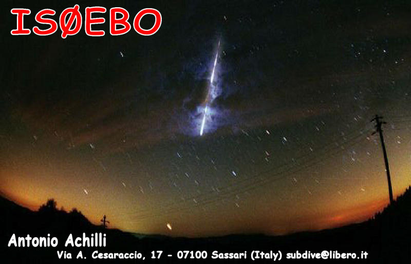 QSL image for IS0EBO