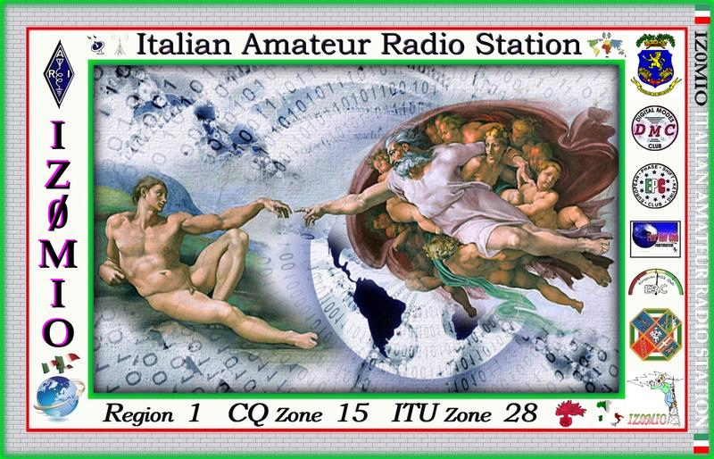 QSL image for IZ0MIO