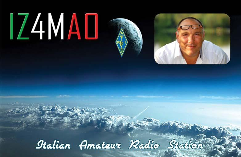 QSL image for IZ4MAO