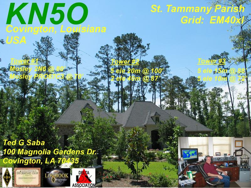 QSL image for KN5O