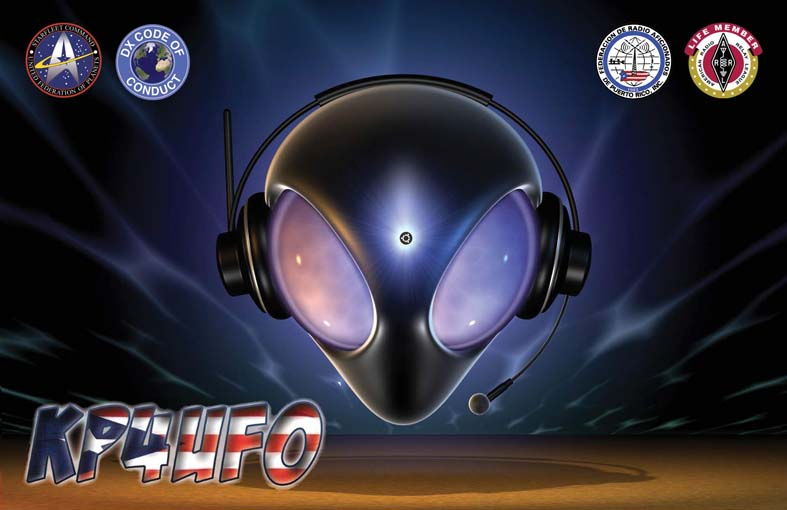 QSL image for KP4UFO
