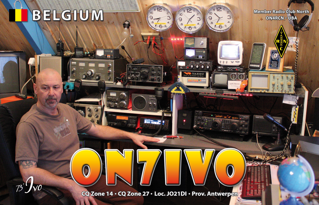 QSL image for ON7IVO