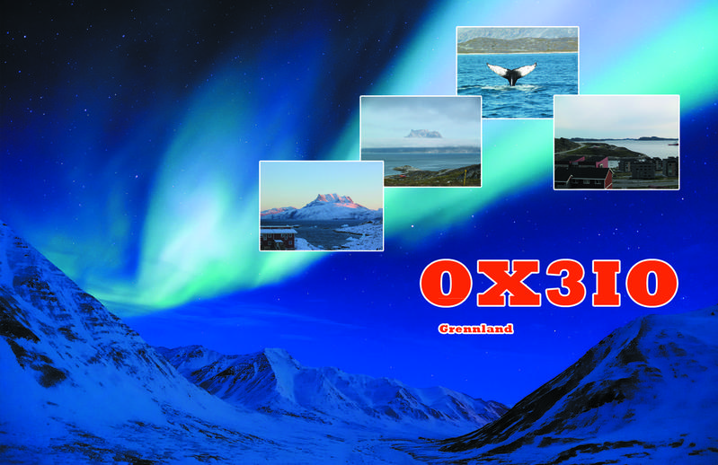 QSL image for OX3IO