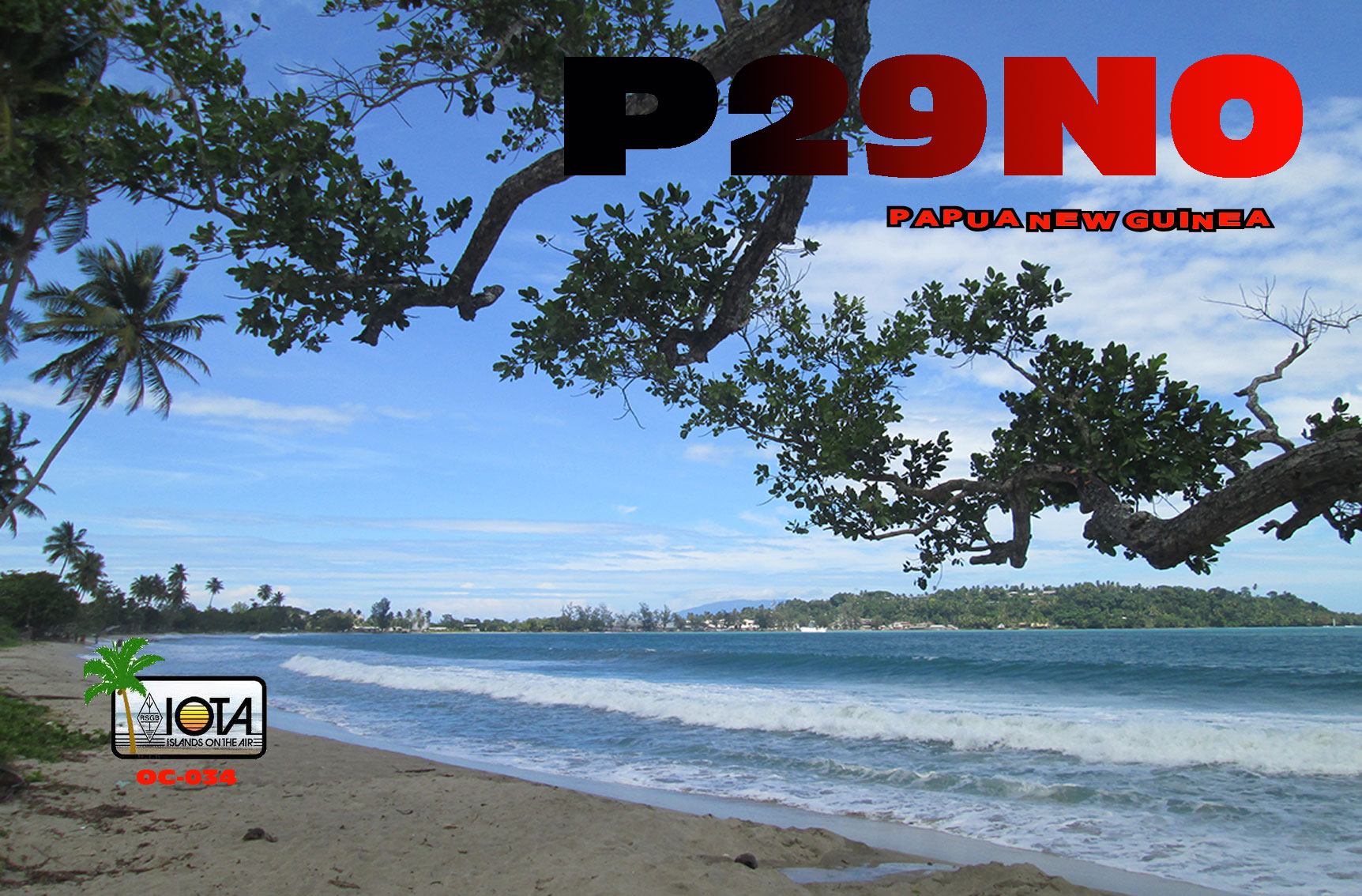 QSL image for P29NO