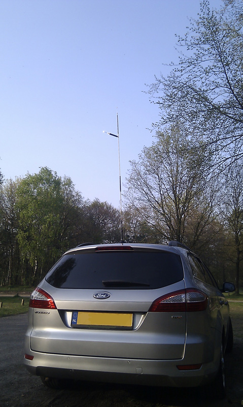 DX-UHV on the car