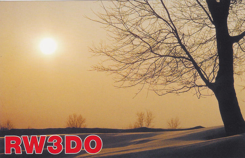QSL image for RW3DO