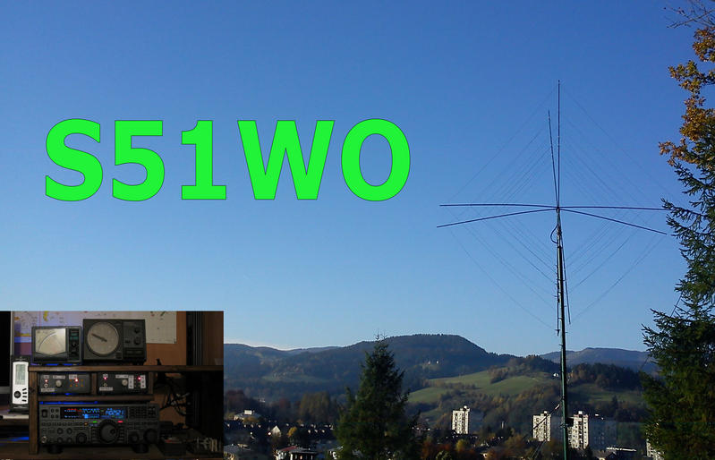 QSL image for S51WO