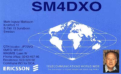 QSL image for SM4DXO
