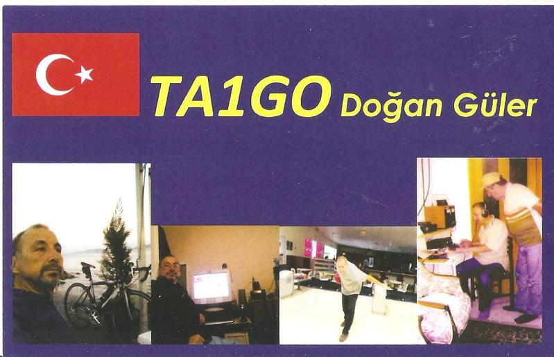 QSL image for TA1GO