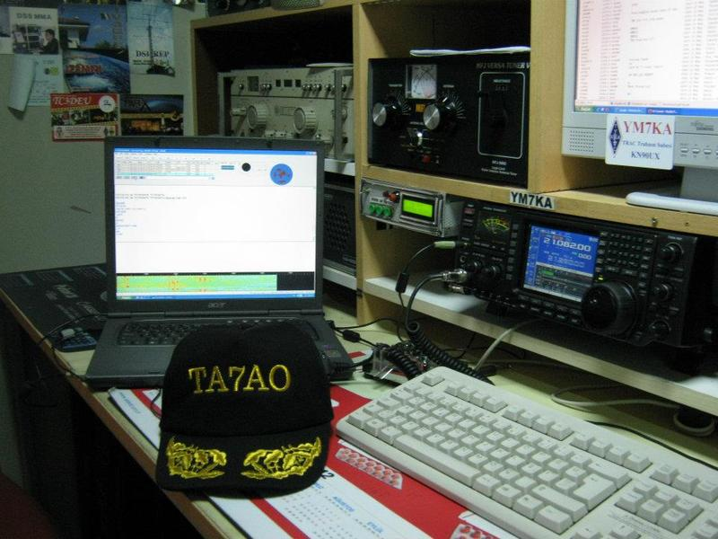 QSL image for TA7AO