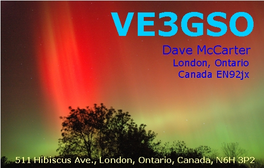 QSL image for VE3GSO