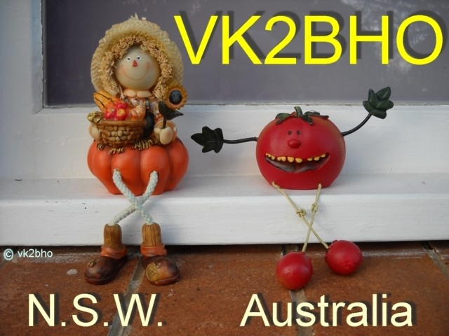 QSL image for VK2BHO