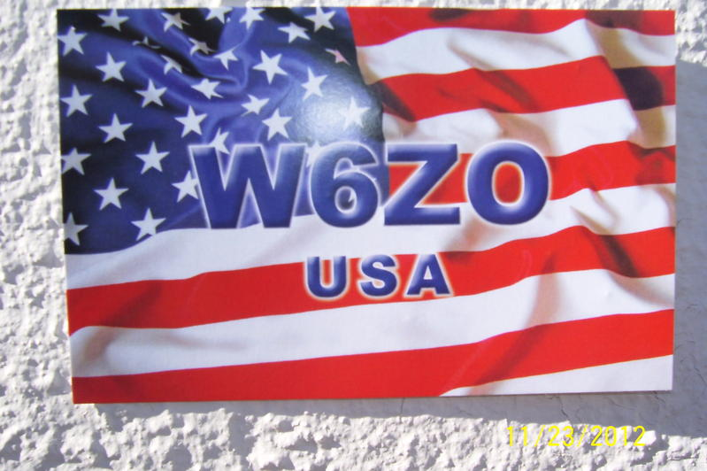QSL image for W6ZO