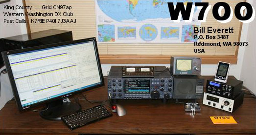 QSL image for W7OO