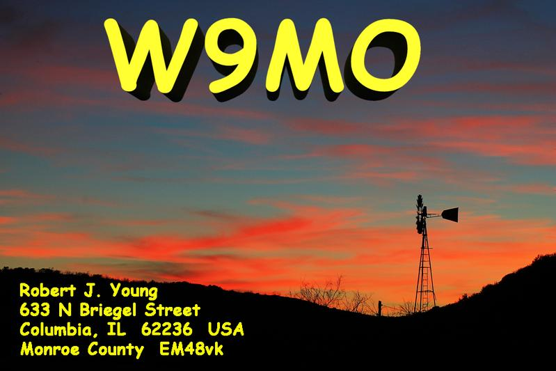 QSL image for W9MO