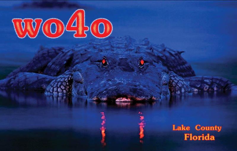 QSL image for WO4O