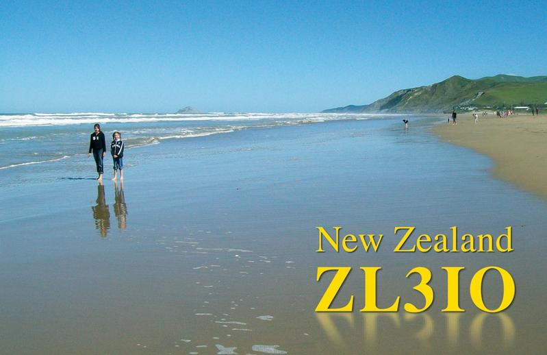 QSL image for ZL3IO