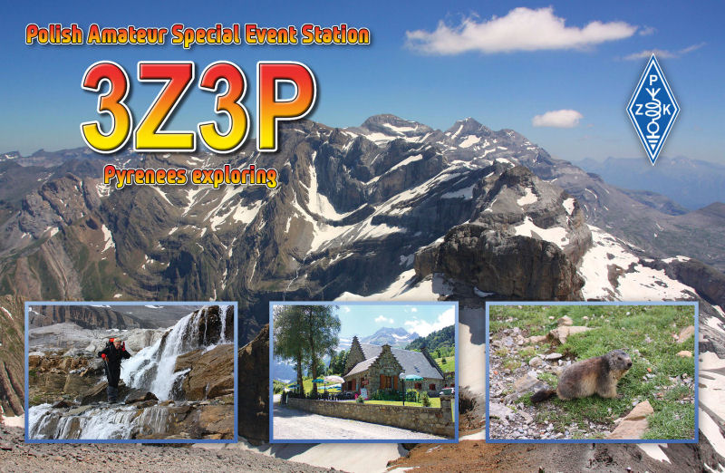 QSL image for 3Z3P