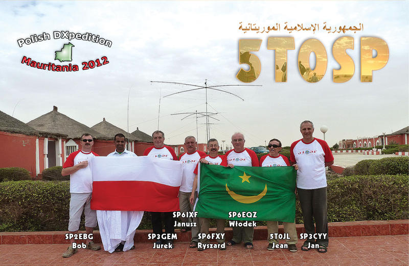 QSL image for 5T0SP
