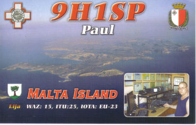 QSL image for 9H1SP