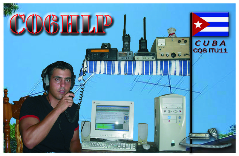 QSL image for CO6HLP