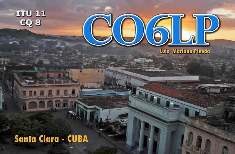 QSL image for CO6LP