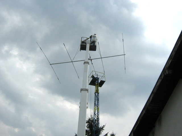 5 el beam for 14, 21, 28 MHz