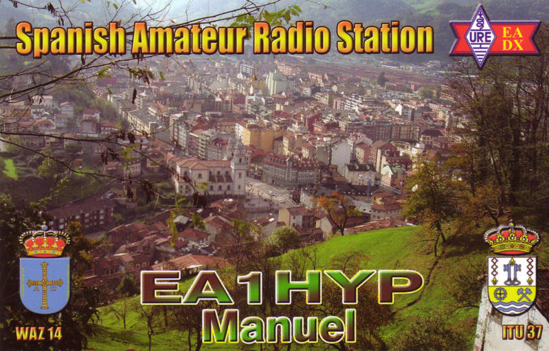 QSL image for EA1HYP