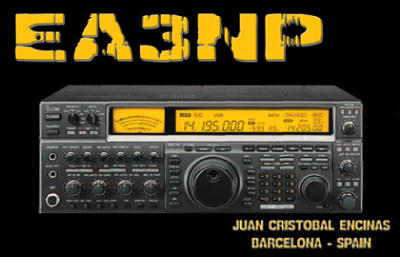 QSL image for EA3NP