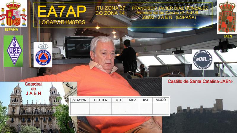 QSL image for EA7AP