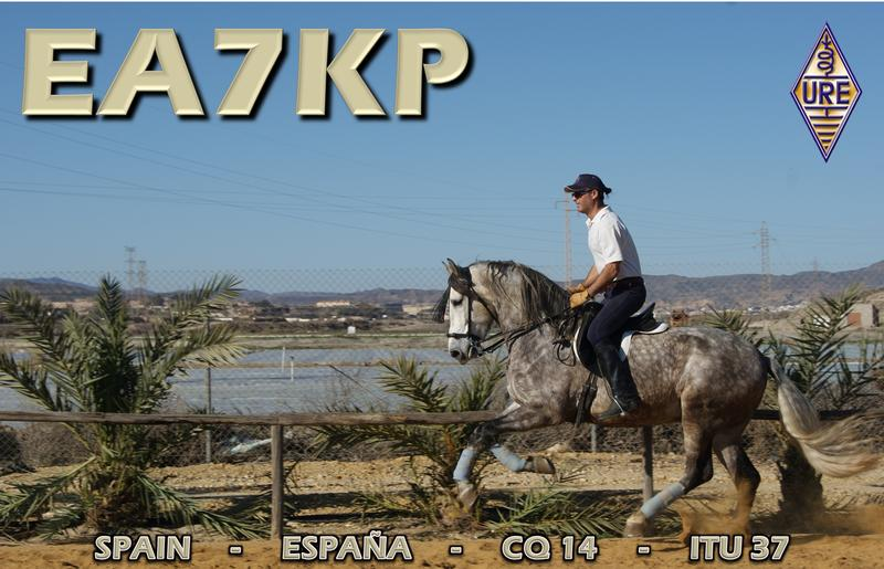 QSL image for EA7KP