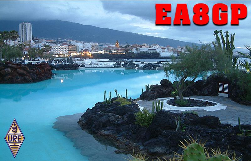 QSL image for EA8GP