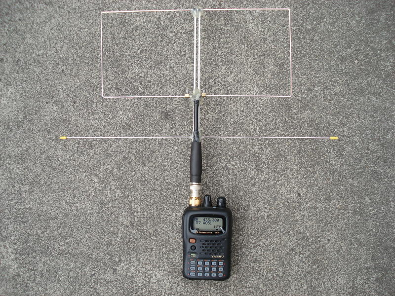 Homebrew arrow antenna 2m