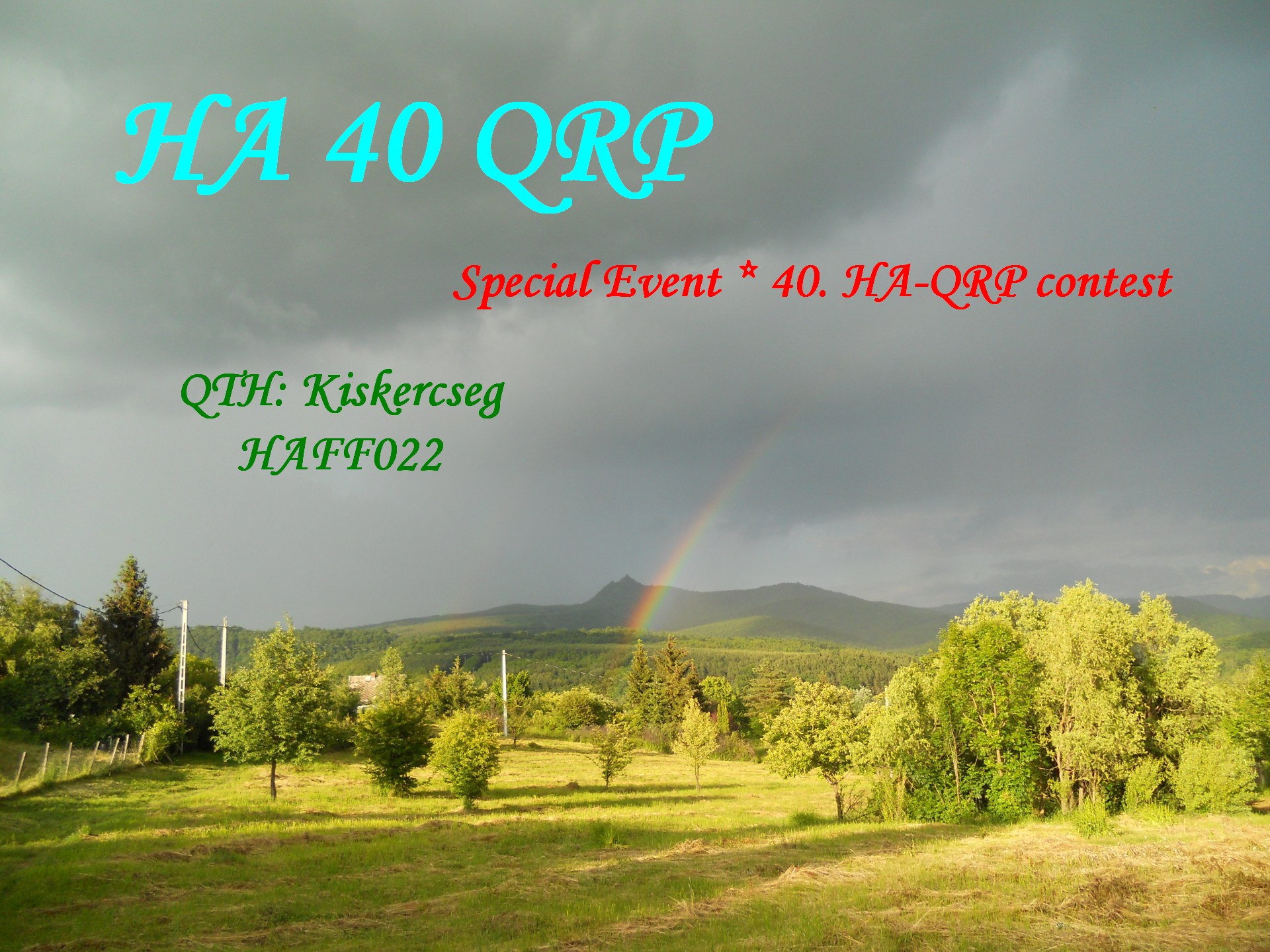 QSL image for HA40QRP