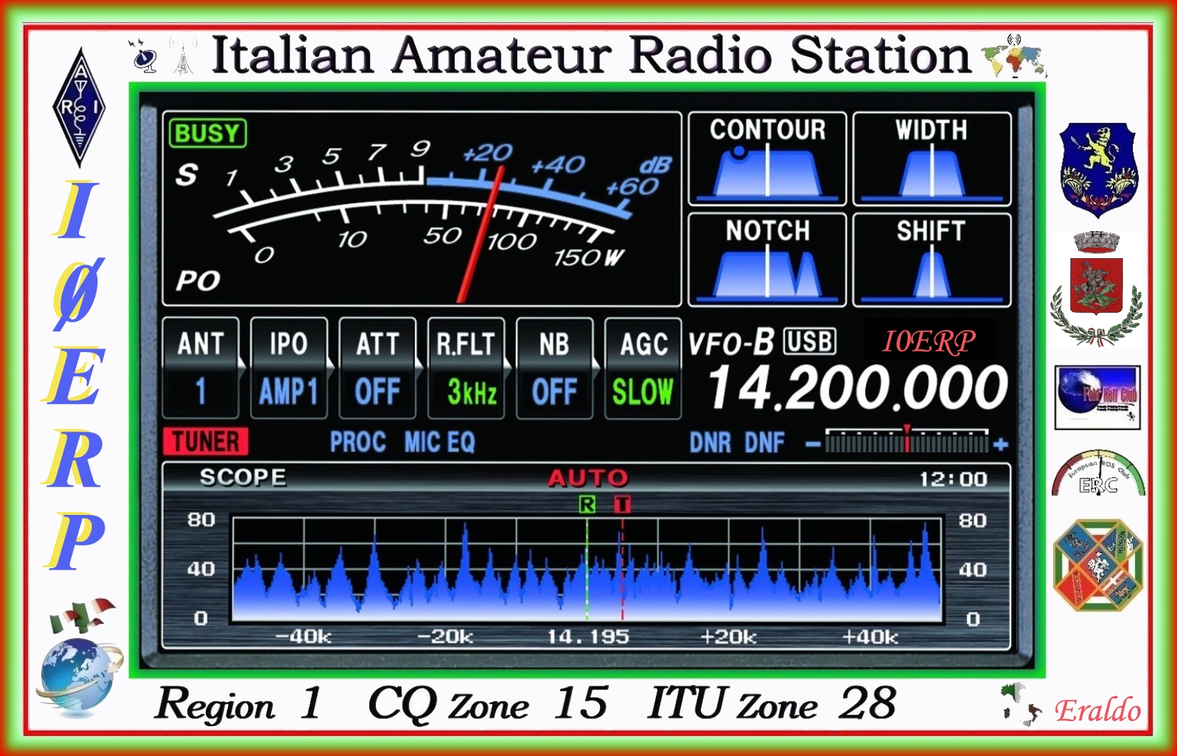 QSL image for I0ERP