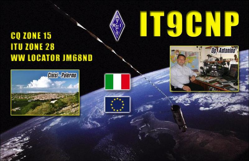 QSL image for IT9CNP