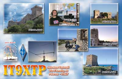 QSL image for IT9XTP