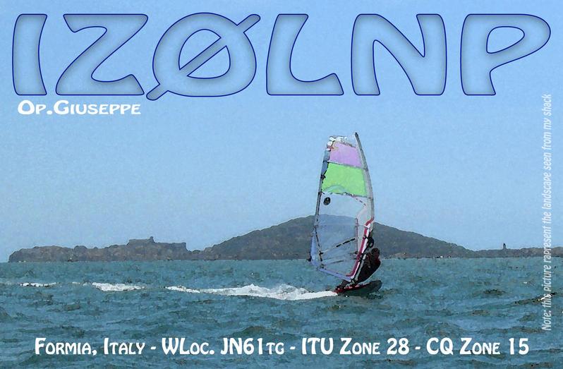 QSL image for IZ0LNP